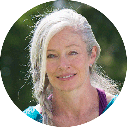 Catherine Sherlock, yoga and meditation teacher at Yoga from the Inside in Richmond NSW