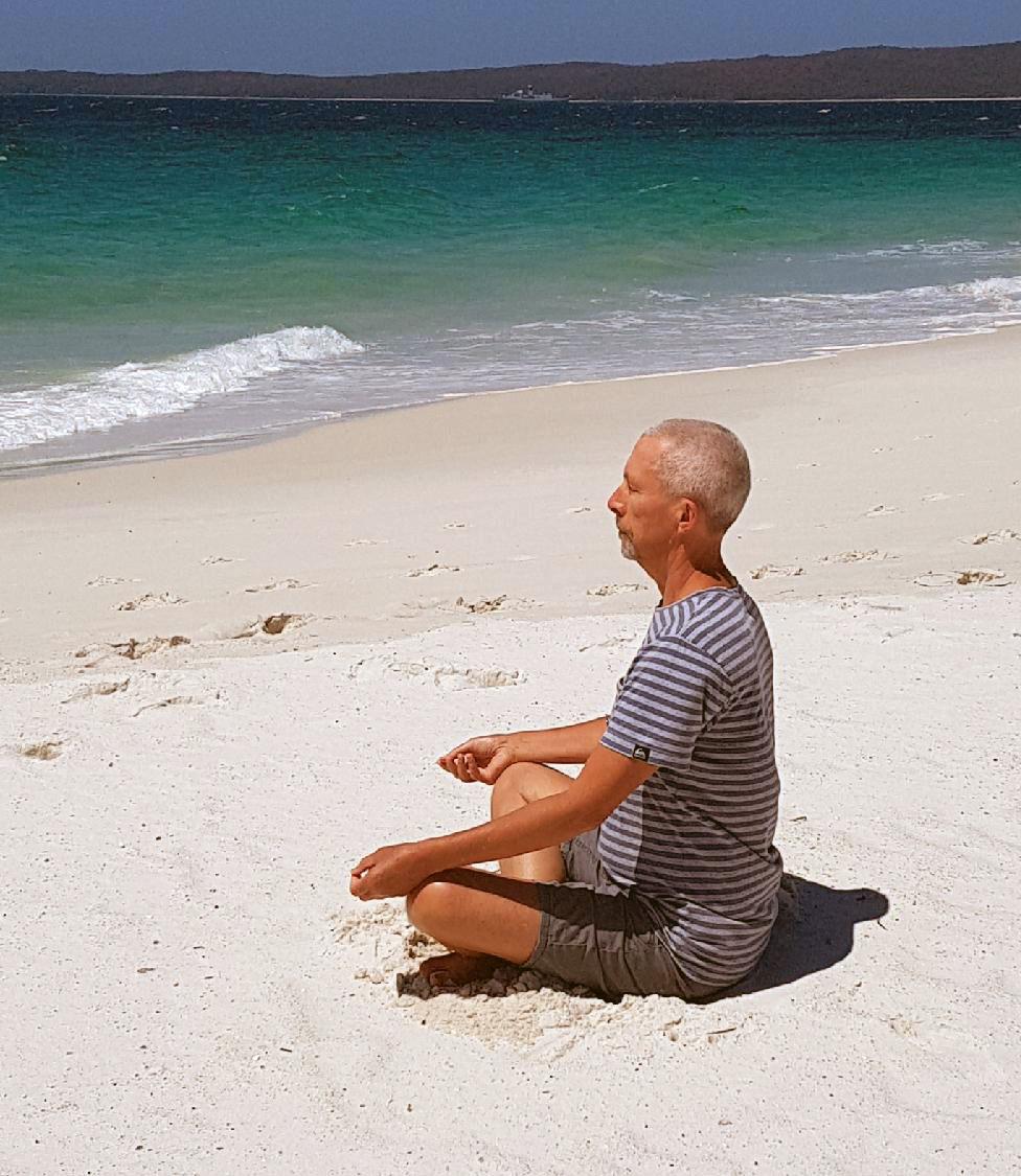 Paul O'Loughlin, teacher and facilitator at Yoga from the Inside, Richmond