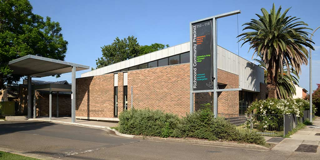 Our classes are in the Hawkesbury Leisure and Learning Centre, Richmond