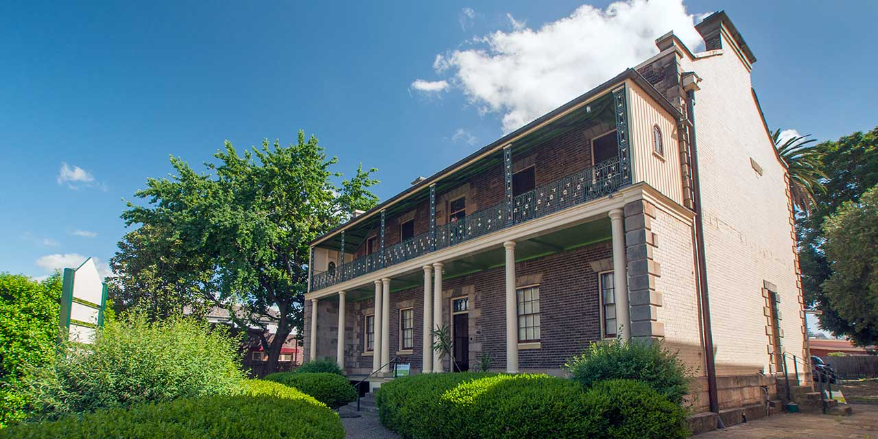 The historic Toxana homestead now houses the Toxana Business Centre